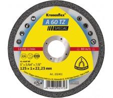 Rezna ploča A60TZ Special 125x1x22