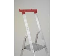 Aluminijske kućne ljestve sa postoljem za alat 32-04 4 stepenice