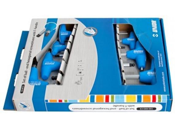 Ključevi imbus, s kuglom, sa T-ručicom - 193HXSCS
