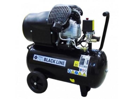 Klipni kompresor za zrak sa dvije glave VB 410/50 BLACK LINE 50L
