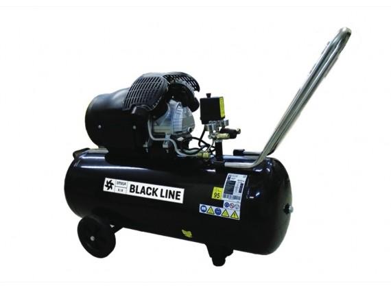 Klipni kompresor za zrak VB 410/100 BLACK LINE 100L