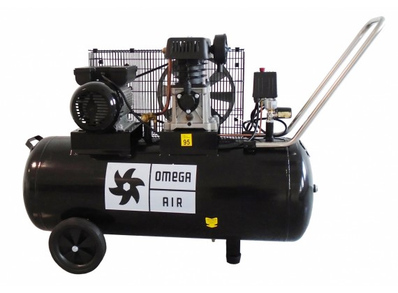 Klipni kompresor sa remenom JP 360/100 100L