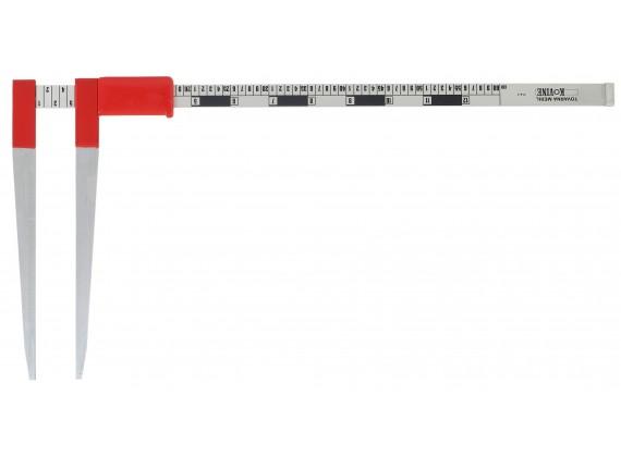 Šumarsko pomično mjerilo - šubler 100 CM