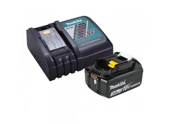 SET 1x Baterija 18 V 3.0 Ah + 1x Brzi punjač