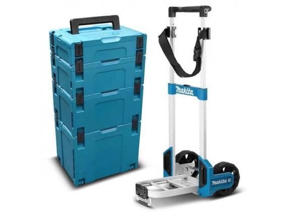 Makpac101 set Makpac kofera sa transportnim kolicima