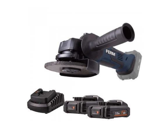 Akumulatorska brusilica AGM1125 20 V 115 mm AGM1125POW2X2