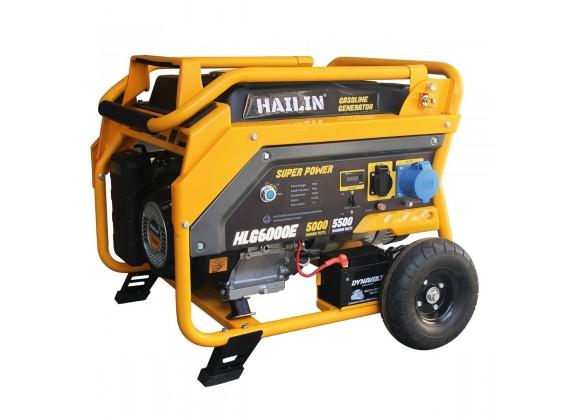Benzinski agregat 5,5 kW HLG6000E