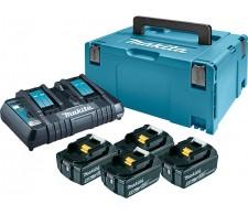 Set baterija sa punjačem u koferu BL1850 LXT 197626-8