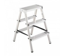 Dvostrane aluminijske kućne ljestve 33-03 3 stepenice