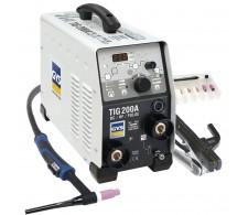Aparat za zavarivanje TIG 200 DC HF FV s priborom