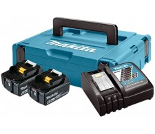 LXT Power set u koferu MAKPAC 1, BL1860Bx2, DC18RC 198116-4
