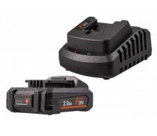 Set baterija i punjač FERMPOW2