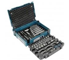 120-dijelni set nasadnih ključeva i bitova u Makpac koferu E-08713