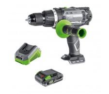 LUX Akumulatorska udarna bušilica 1 PowerSystem 20 V sa baterijom i punjačem