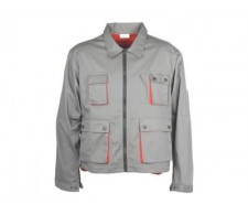 Radna bluza CLASSIC PLUS sivo/crvena Vel. S-XXXL