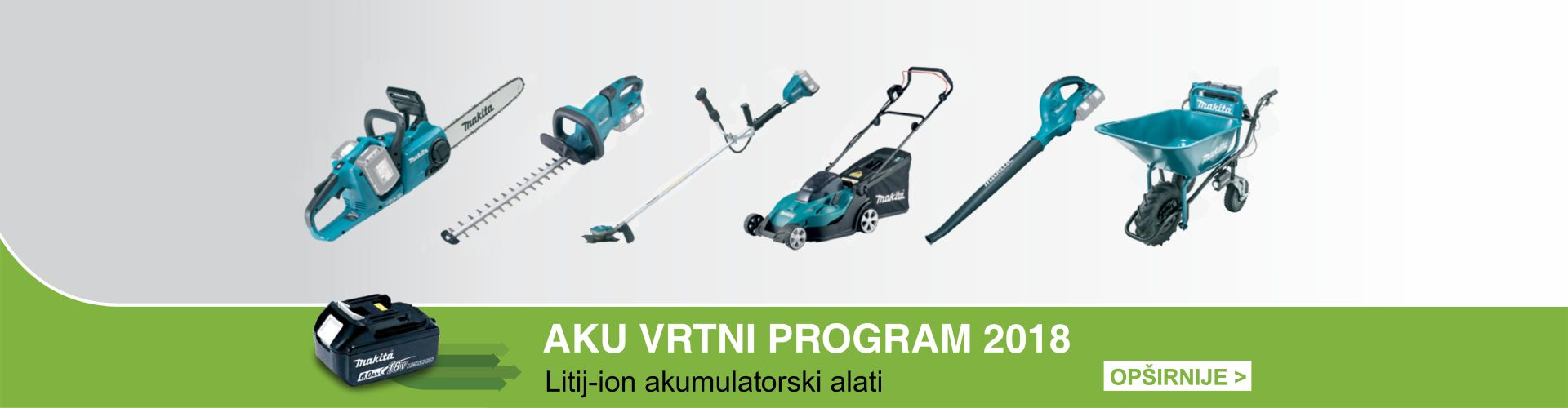 AKU VRTNI PROGRAM MAKITA