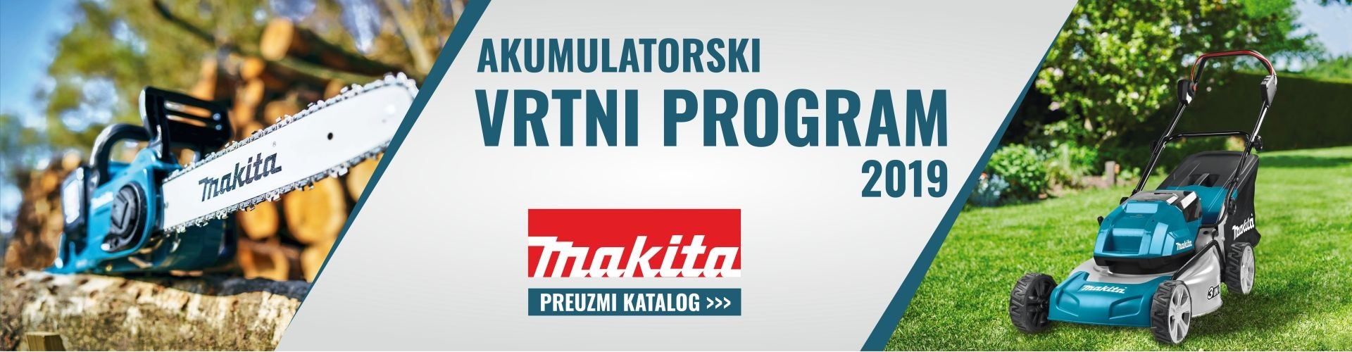 AKU VRTNI PROGRAM 2019 MAKITA